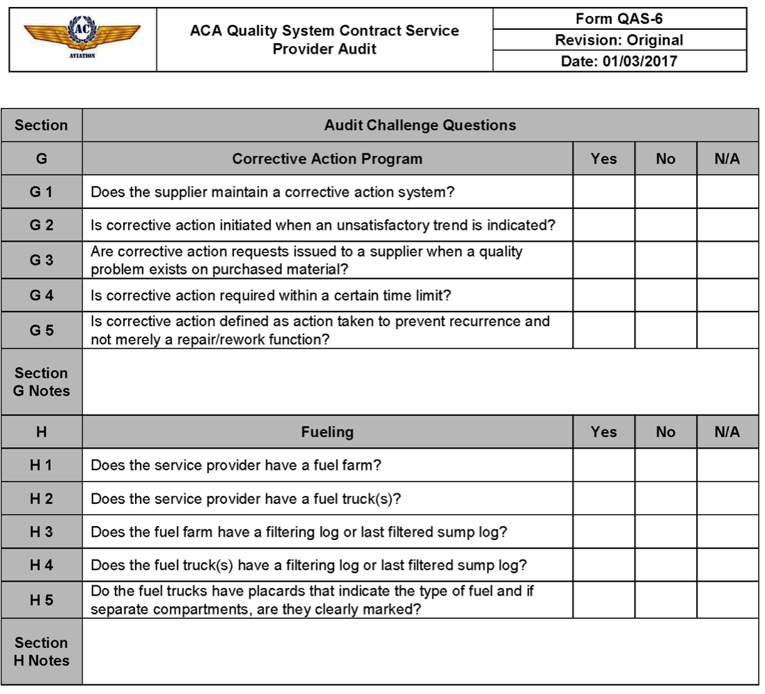 QAS-6-9_QAS_Contract_Service_Provider_Audit Quality Audit Form Example on purpose statement, risk assessment, working paper, trail report, summary memo, for skill, cover letter,
